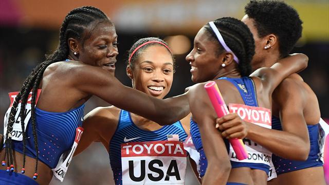 Elftes Gold: Allyson Felix erfolgreichster Teilnehmer an Leichtathletik-Weltmeisterschaften