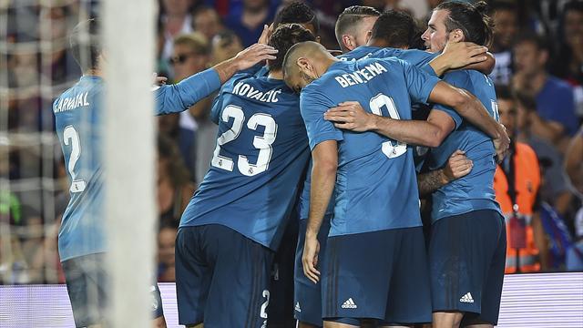 El Real Madrid gana el Clásico a base de golazos y se acerca al título (1-3)
