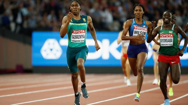 Turbo auf der Zielgeraden: Semenya deklassiert die Konkurrenz