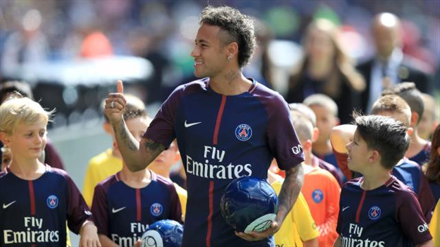 Neymar in focus