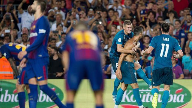 Piqué-Eigentor und Ronaldo-Wahnsinn! Real vor Supercopa-Triumph
