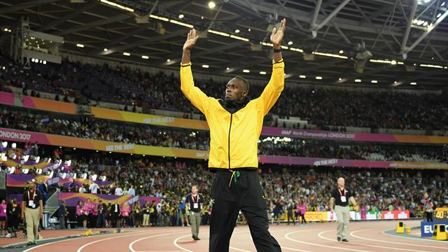 Le dernier tour d'honneur du Roi Usain Bolt