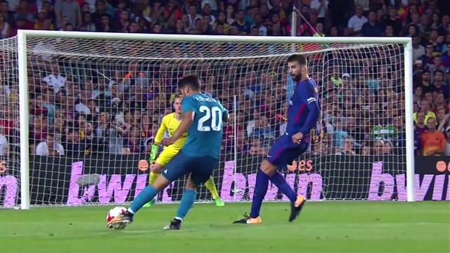Grâce à un missile, Asensio a fait taire le Camp Nou