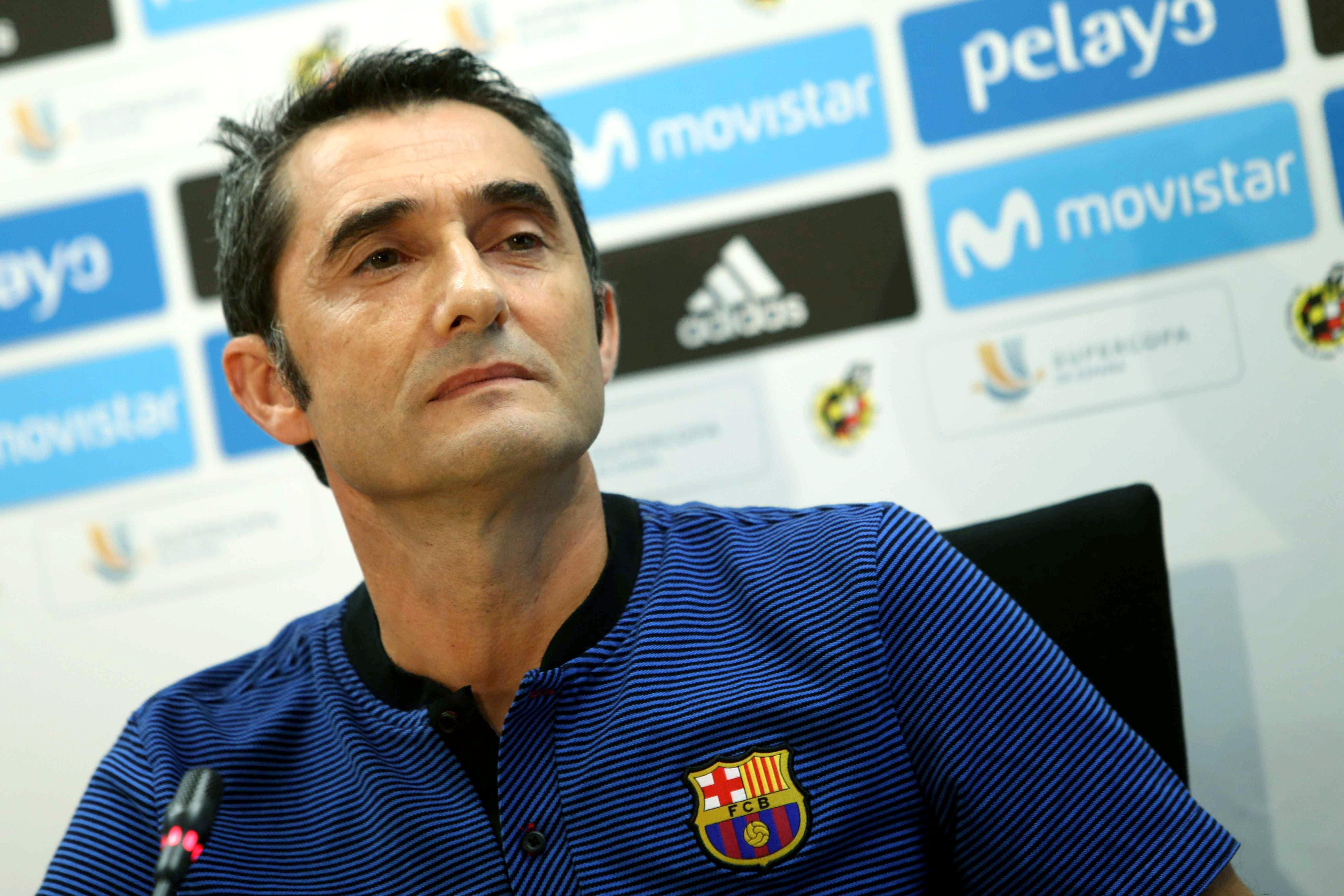 Эрнесто Вальверде, «Барселона»