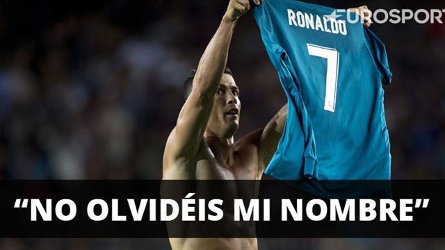 Cristiano Ronaldo dejó su sello en el Camp Nou