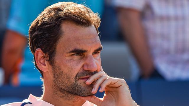 """Federer : """"J'ai eu quelques maux et des douleurs"""""""