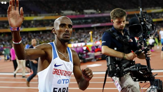 Mo Farah announces he is changing his name