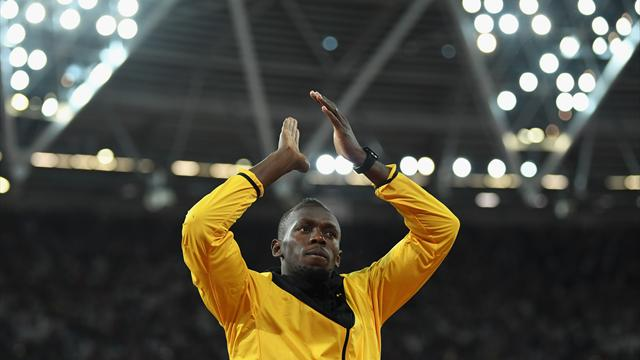 Bolt vows 'never again' after emotional London farewell