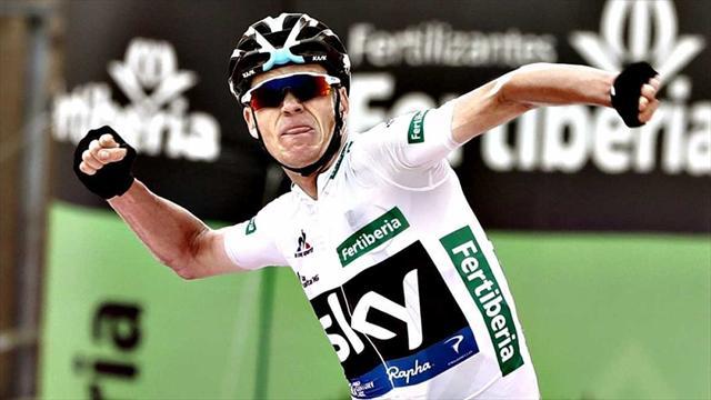 Revivez la Vuelta 2016 : Chris Froome, roi de la Peña Cabarga