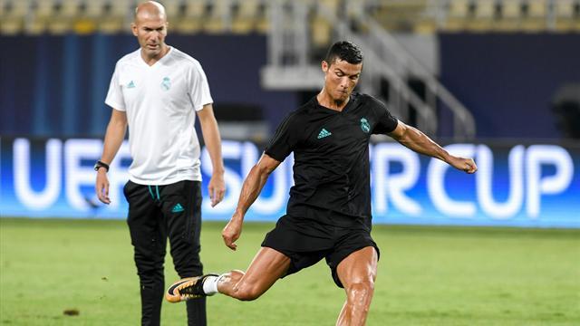 Zidane : «J'espère que Cristiano va trouver son rythme de croisière»