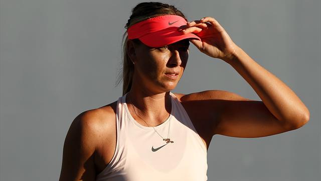 Le programme de lundi : Retour royal pour Sharapova