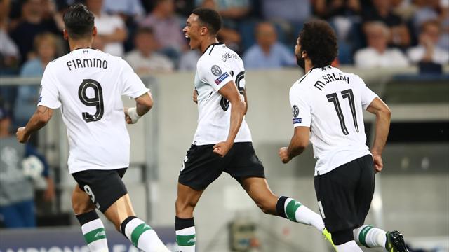 Hoffenheim a tout tenté mais c'est Liverpool qui est le mieux placé