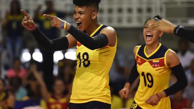 Venezuela, Brasil y Colombia ganan en la primera fecha del Sudamericano de Voleibol