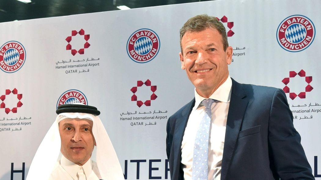 buy popular 16296 2e2b6 Trikot-Sponsoren: FC Bayern auch hier mit der Oberhand ...
