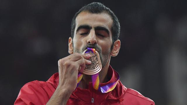 Majd Eddin Ghazal, dai bombardamenti in Siria al bronzo mondiale