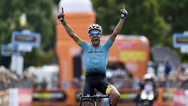 Vuelta, Nibali vince la terza tappa in volata. Froome in maglia rossa