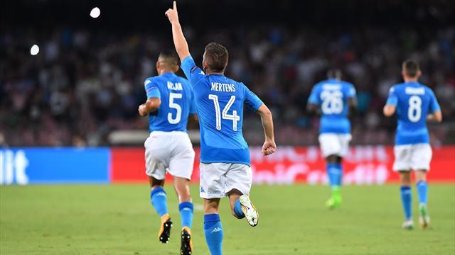 Mertens-Jorginho, il Napoli ne fa 2 al Nizza... Ma quante occasioni sprecate!