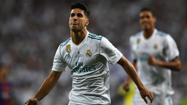 Asensio: Zidane told me my left foot was the best since Messi