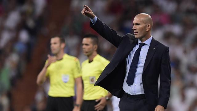 """Zidane : """"On termine un cycle avec ce titre en Supercoupe d'Espagne"""""""