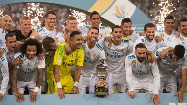 Barcellona ancora umiliato: 2-0 Real Madrid, Zidane si prende anche la Supercoppa di Spagna