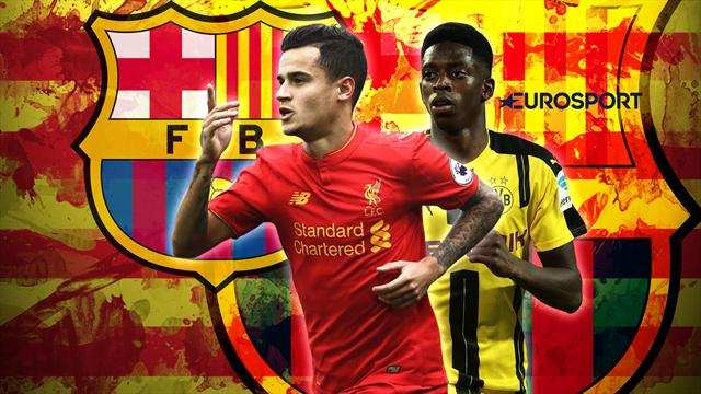 Euro Papers: Barcelona set to announce Coutinho and Dembele €250m double swoop