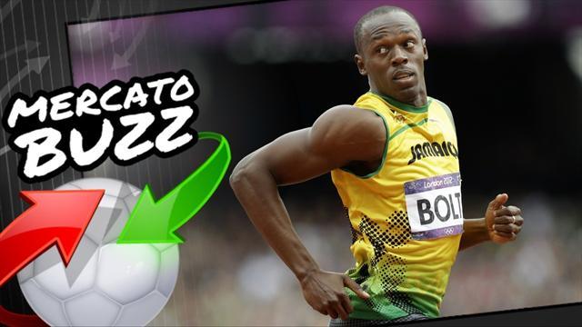Mercato Buzz : Usain Bolt footballeur ? Un club anglais y croit très fort