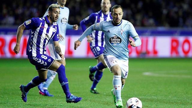 Marcelo Díaz acordó su salida de Celta de Vigo