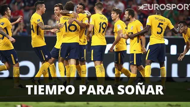 Atlético de Madrid rescata empate ante el Girona