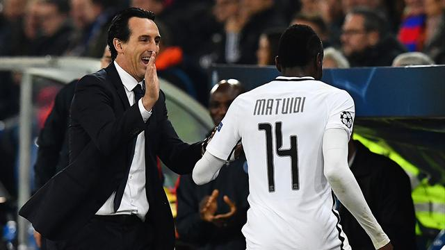 """Emery : """"Nous avons été très contents de Matuidi"""""""