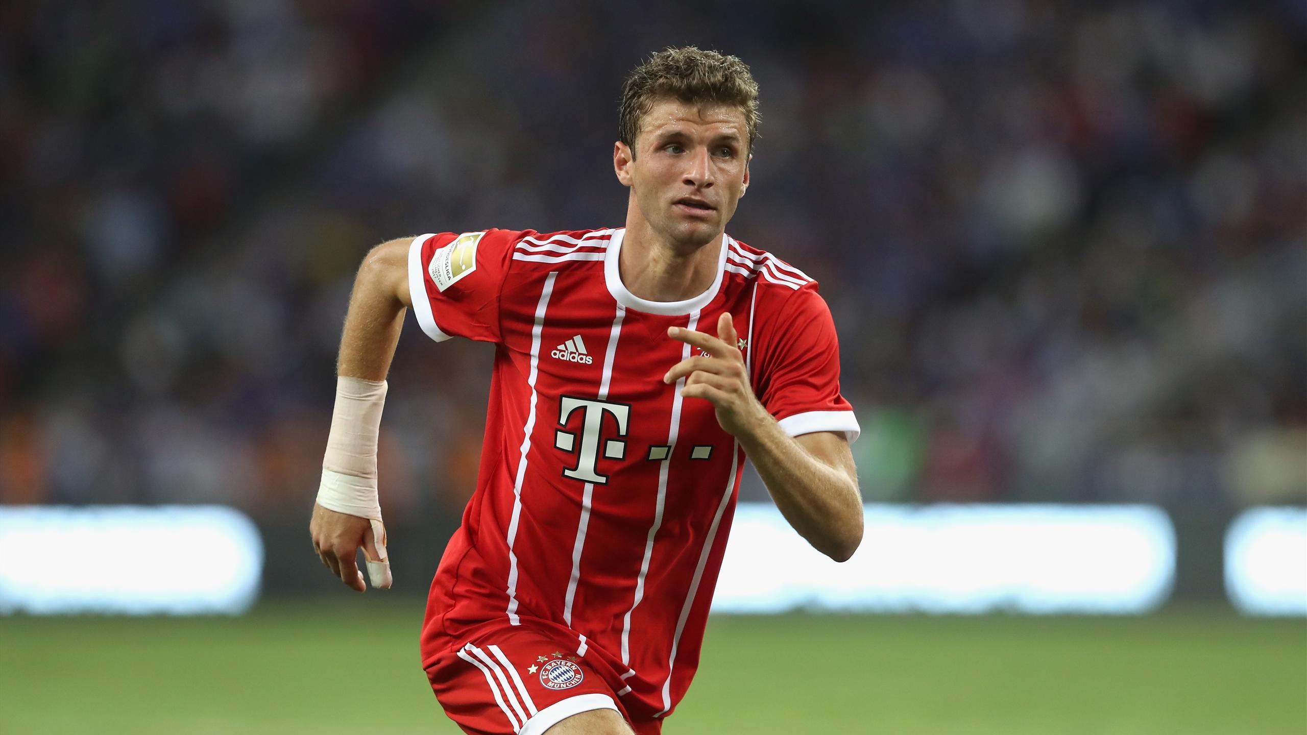 Thomas Müller Player Profile Football Eurosport