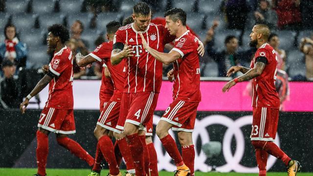 Bundesliga, Bayern Múnich-Bayer Leverkusen: Goles bajo la lluvia y primera decisión del VAR (3-1)