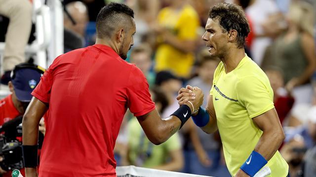 Kyrgios rips into Djokovic, Nadal in podcast