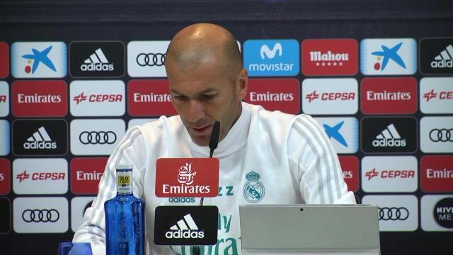 """Zidane sur les attentats en Catalogne : """"On pense aux familles"""""""