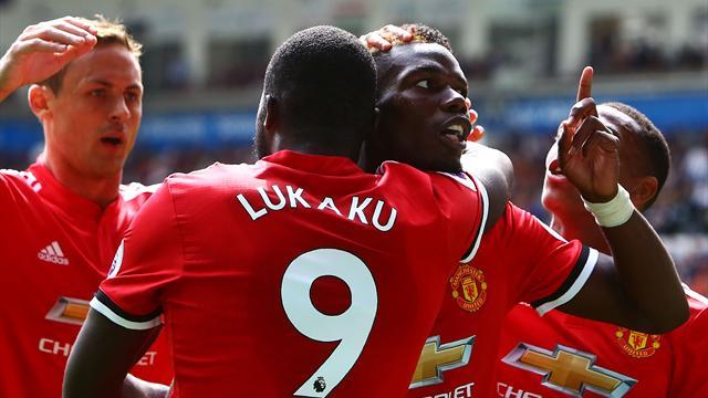 «Манчестер Юнайтед» вгостях разгромил «Суонси»