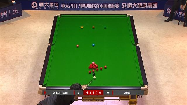 O'Sullivan's stunning long red sets up match-winning clearance