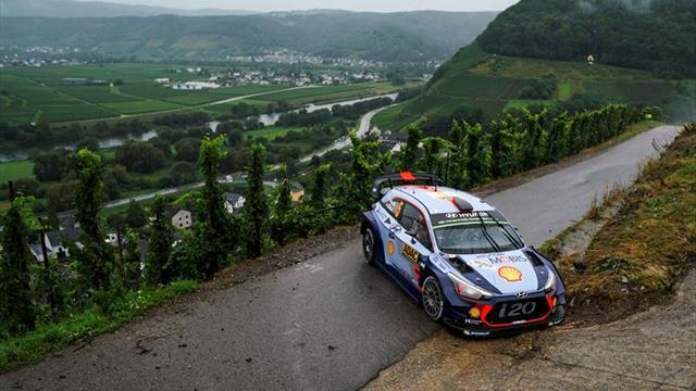 Ott Tänak ganó la primera etapa del Rally de Alemania