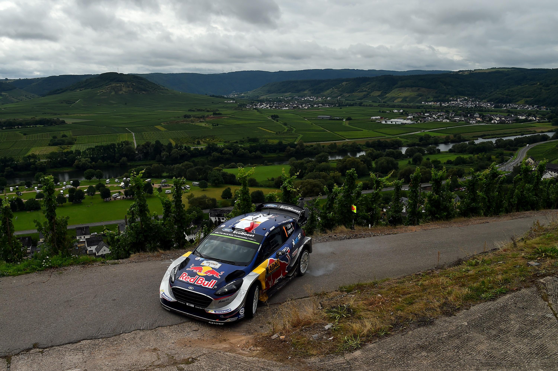 Sébastien Ogier (Ford M-Sport) au Rallye d'Allemagne 2017