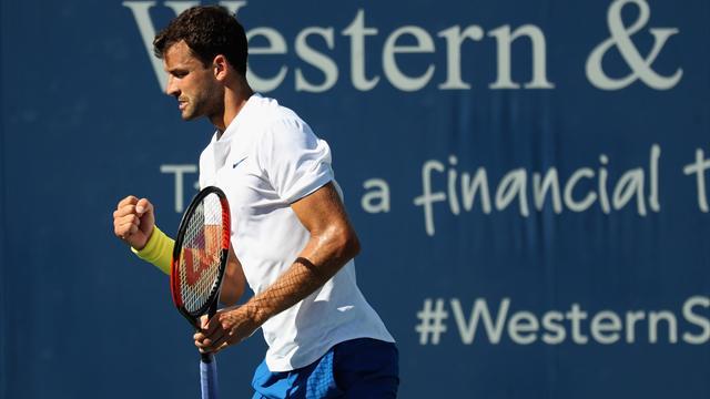 Vainqueur d'un thriller face à Isner, Dimitrov jouera sa première finale en Masters 1000