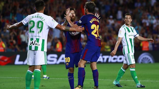 Le Barça a fait face