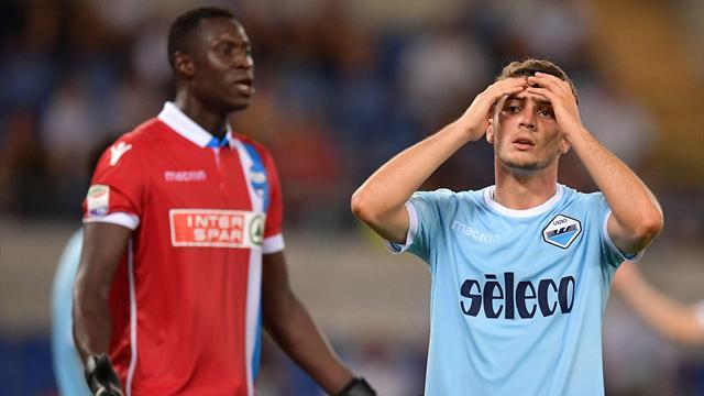 Delusione Lazio: 0-0 all'esordio contro la SPAL