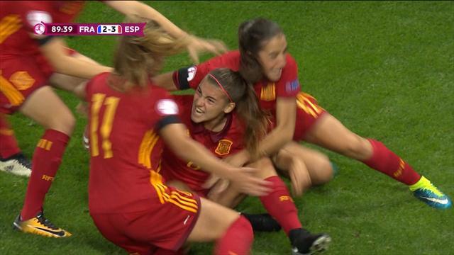 Испанки и француженки закатили пирушку с 5 голами в финале женского Евро U-19