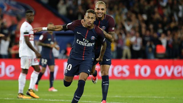 Ligue 1, PSG-Toulouse: Doblete de Neymar y goleada (6-2)
