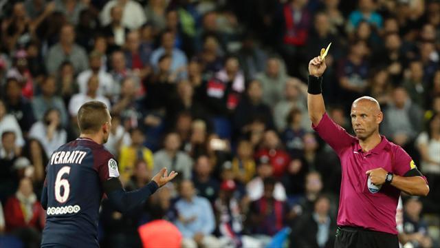 Verratti prend trois matches pour des propos «à caractère injurieux»