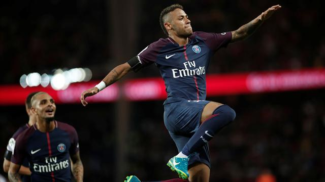 Neymar targets improvement at PSG after stunning home debut