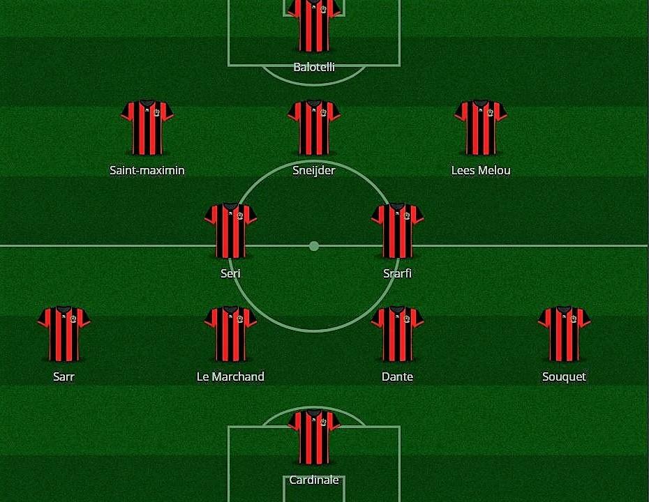 Nizza-Napoli: le formazioni ufficiali del ritorno playoff di Champions League