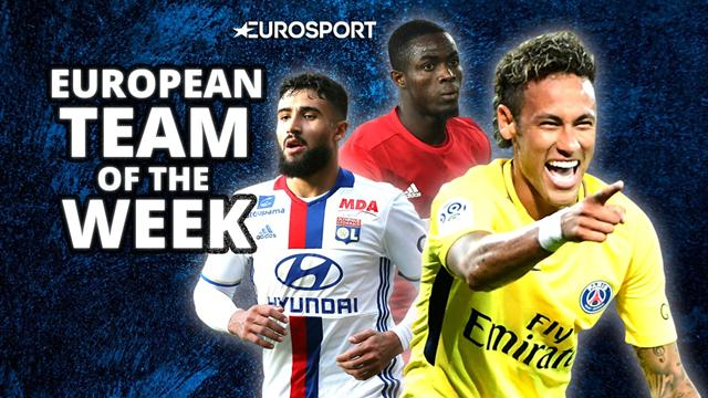 European Team of the Week: Neymar joins two United stars