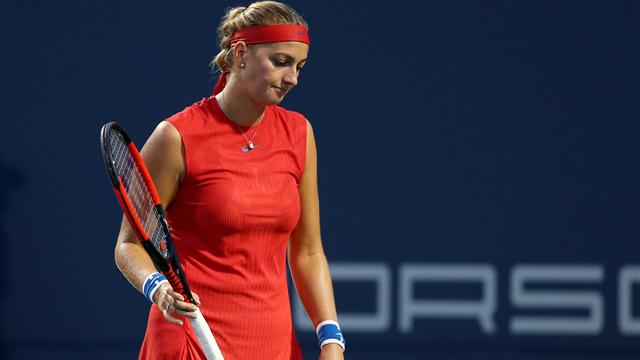 Kvitova knocked out of New Haven