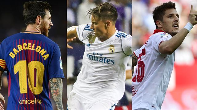 Messi, Marcos Llorente y Jovetic, los nombres del día
