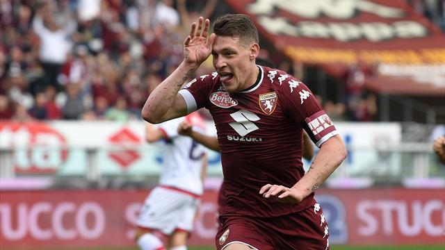 Belotti off the mark with scissors kick in Torino win