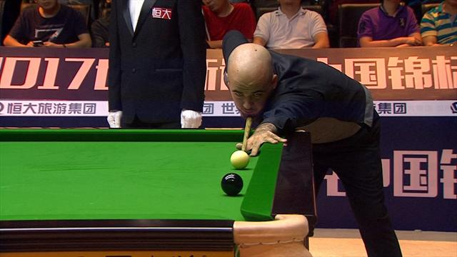 Brecel wins first ranking event with victory over Murphy